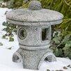 Campania International Rustic Pagoda Decorative Lantern