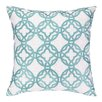 Cococozy Cococozy Pacific Trellis Embroidered Throw Pillow