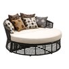 Sunset West Venice Double Chaise Lounge with Self Welt Cushion