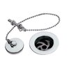 Ultra 6cm Chain and Stopper Waste Bathroom Sink Drain