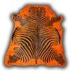 Pieles Pipsa Zebra Orange Rug