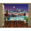 Walltastic View Brooklyn Bridge NYC 1m x 243.84cm Wall Mural
