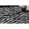 Pur Luxe Zebra 110 Thread Count Satin Sheet Set