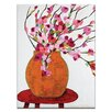 Artist Lane Magnolia Pot by Anna Blatman Art Print on Canvas