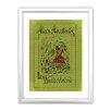 Star Editions Classic Book Art Alice's Adventures in Wonderland Framed Vintage Advertisement