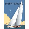 Star Editions Solent Sailing by Dave Thompson Vintage Advertisement