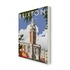 Star Editions Brixton, London by Dave Thompson Vintage Advertisement Wrapped on Canvas