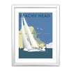 Star Editions Sailing at Beachy Head by Dave Thompson Framed Vintage Advertisement