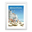 Star Editions Brighton Beach by Dave Thompson Framed Vintage Advertisement