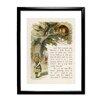 Star Editions Alice's Adventures in Wonderland by Sir John Teniel Framed Art Print