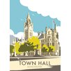 Star Editions Manchester Town Hall by Dave Thompson Vintage Advertisement