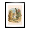 Star Editions Alice's Adventures in Wonderland by Sir John Teniel Framed Art Print