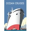 Star Editions Ocean Cruises by Dave Thompson Vintage Advertisement