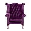 Portabello Interiors Chesterfield Boutique Wingback chair