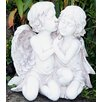 House Additions Kissing Angels Statue