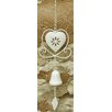 House Additions Heart Hanging Bell