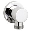 Ultra Minimalist Shower Outlet Elbow in Chrome