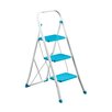 All Home 3-Step Metal Step Stool