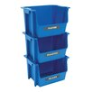 United Solutions Nesting Stacking Multi Compartments Recycling Bin