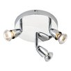 Saxby Lighting Amalfi 3 Light Ceiling Spotlight