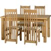 Home & Haus Everett Dining Set with 4 Chairs
