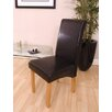 Home Etc Solid Oak Upholstered Dining Chair