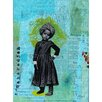 Les Petites Kasko 'Little Maharadjahs Bleu' Graphic Art Print on Canvas