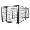 Jewett Cameron Lucky Dog™ Steel Wire Yard Kennel