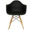dCOR design Wood Eiffel Barrel Chair