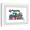Marmont Hill 'Steam Train 2' by Eric Carle Framed Painting Print