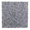 "Abolos Full Body 0.5"" x 0.5"" Glass Mosaic Tile in Gray"