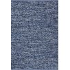 PAPILIO by Prado Rugs Denim Jeans Handmade Blue Area Rug