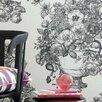 Clarke&Clarke Floribunda 10m L x 52cm W Floral and Botanical Roll Wallpaper