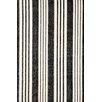 Dash & Albert Europe Birmingham Hand-Loomed Black Area Rug