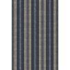 Dash & Albert Europe Hand-Woven Blue/Beige Indoor/Outdoor Area Rug