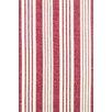 Dash & Albert Europe Birmingham Hand-Loomed Red/Beige Area Rug
