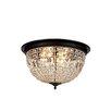 Elegant Lighting Olivia 4-Light Flush Mount