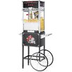 Great Northern Popcorn 12 oz.TopStar Black Commercial Quality Popcorn Machine with Cart