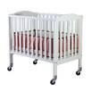 Dream On Me 2-in-1 Birch Folding Portable Crib