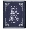 Oliver Gal Head High' by Blakely Home Typography on Canvas