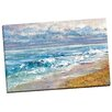 Portfolio Canvas Decor Sea's Escape square by Bridge Painting Print on Wrapped Canvas
