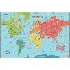 Viv + Rae Lucas World Map Wall Decal