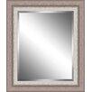 Ashton Wall Décor LLC Ribbed Wood Framed Beveled Plate Glass Mirror