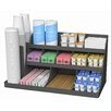 Mind Reader 14 Compartment 3 Tier Breakroom Organizer