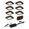 Vaxcel 9 Piece Under Cabinet Puck Light Set