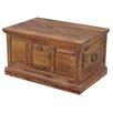 Ethnic Elements Kerala Sheesham Wooden Panel Large Blanket Box