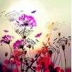 Atelier Contemporain Flower by Iris Graphic Art on Canvas
