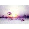 Atelier Contemporain Sunset by Iris Graphic Art on Canvas
