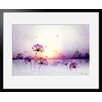 Atelier Contemporain Sunset by Iris Framed Art Print
