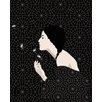 Atelier Contemporain Dandelion by Bahar Graphic Art Wrapped on Canvas